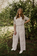Ivory Spotted Jumpsuit 2571