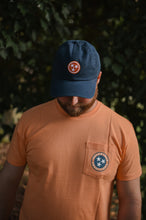 Volunteer Traditions Tristar Pocket Tee in Orange Peel 2750