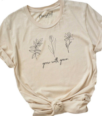 Grow With Grace Tee 2676