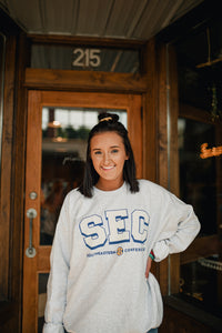 SEC Retro Throwback Sweatshirt 2213