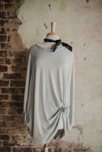 Light Grey Oversized Sweater 2278
