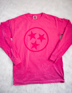 Pink Tristar Long Sleeve Tee 2975