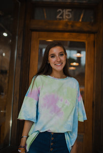 Cotton Candy Tie Dye Tee 2712