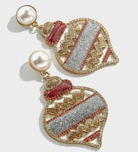 Christmas Ornament Earring