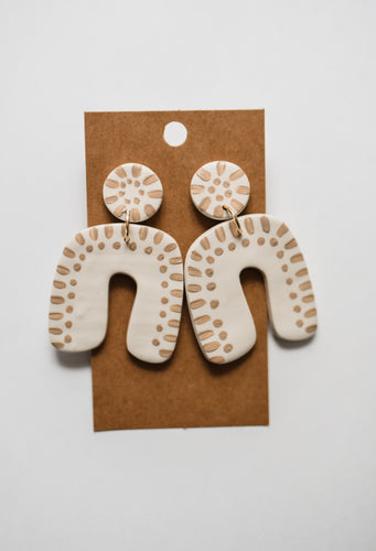The Willa Clay Earrings