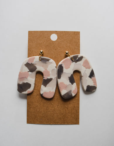 The Rosa Clay Earrings