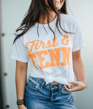 First & Tenn White Tee 1554