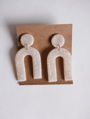The Kacey Arch Clay Earrings