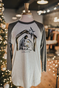 Nativity Raglan Tee 2355