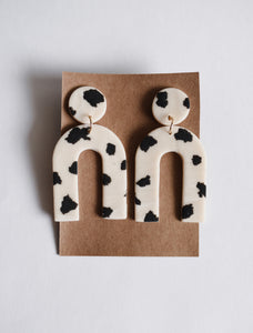 The Chloe Clay Earrings