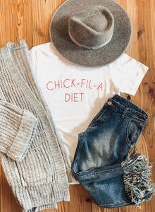 Chick Fil A Diet Tee 2332