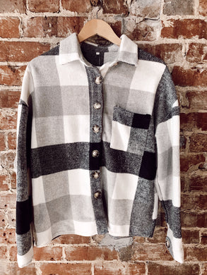 White Buffalo Plaid Flannel 3005