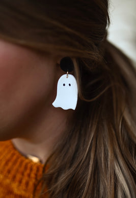 Ghost Clay Earrings