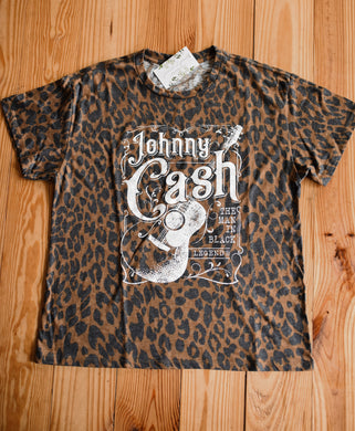Leopard Johnny Cash Tee 2541