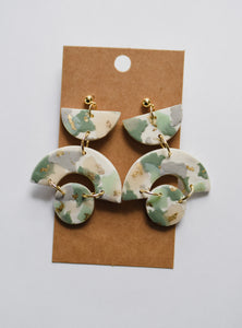 The Lily Clay Earrings