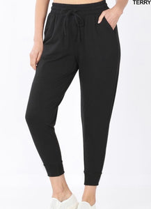Black Jogger Sweatpants 2936