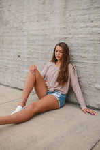 Easy Breezy Top in Mauve 2657