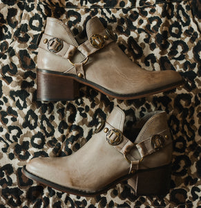 Stone Western Ankle Boot 2234