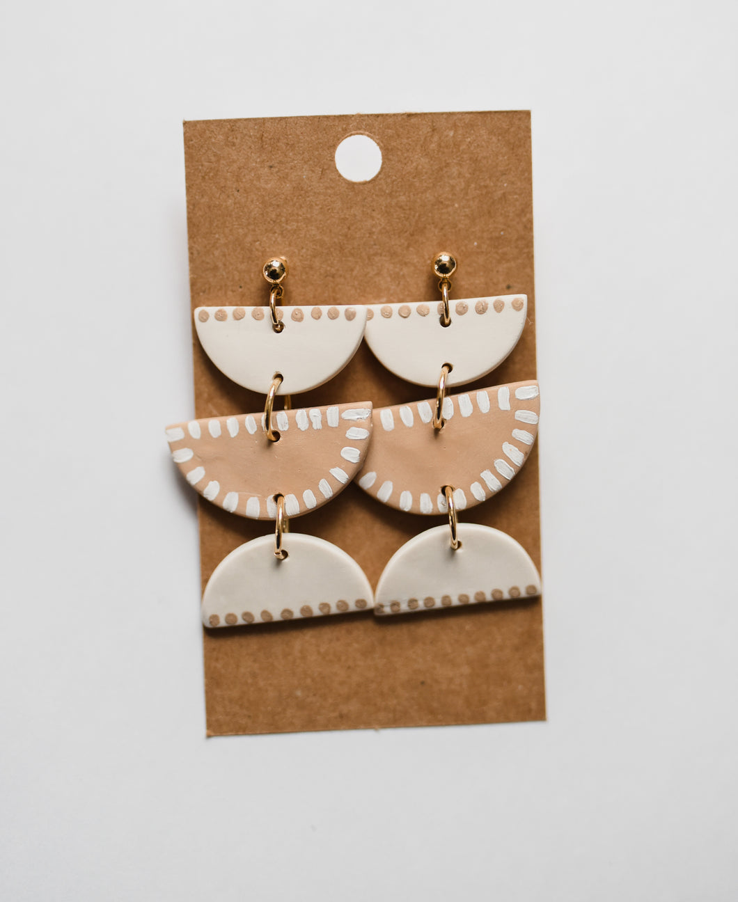 The Serena Clay Earrings