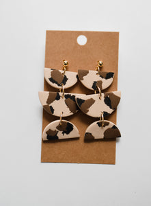 The Wilder Clay Earrings