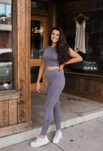 Work It Out Leggings in Mauve 2708