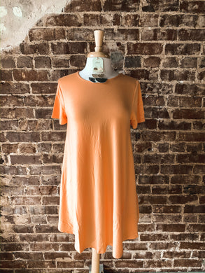 Peach Short Sleeve Tunic 2494
