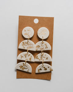 The Stella Clay Earrings