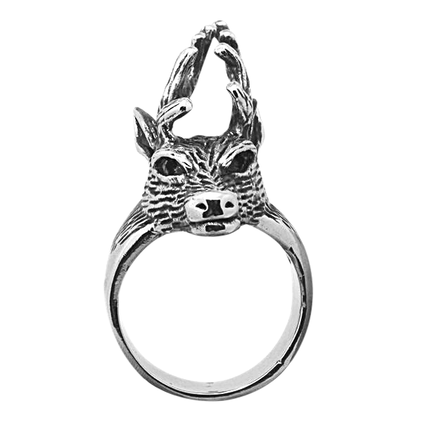 DEER HEAD RING