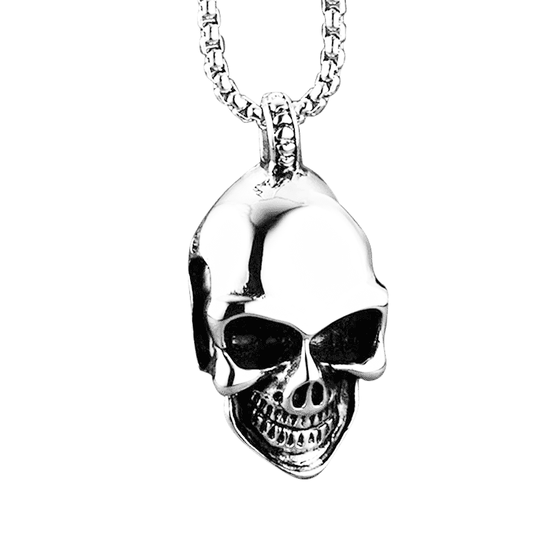 MOCKER SKULL NECKLACE