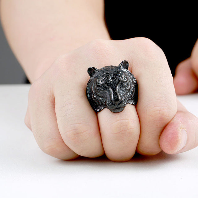 Bengal Tiger Ring 6 / Black