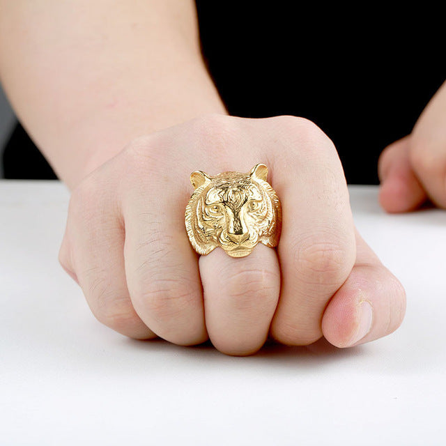 Bengal Tiger Ring 6 / Gold