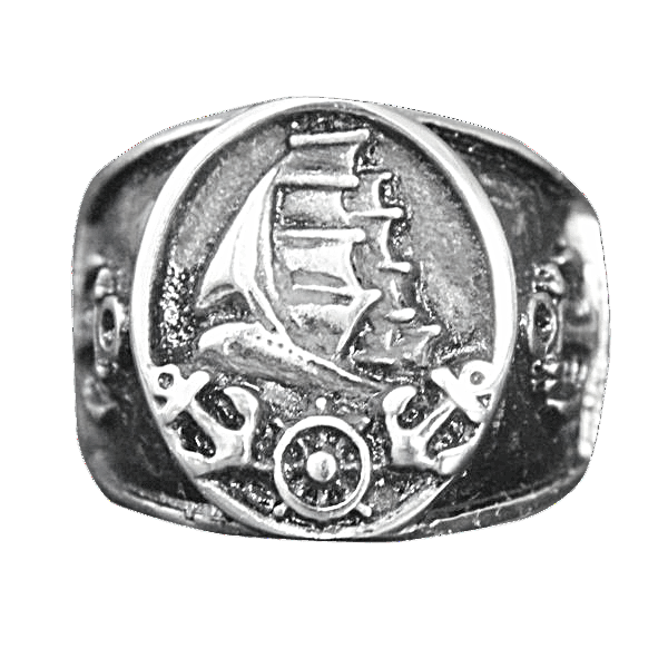 BLACK SHIP RING