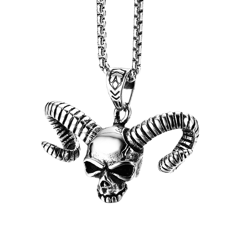 AZRAEL'S SKULL NECKLACE