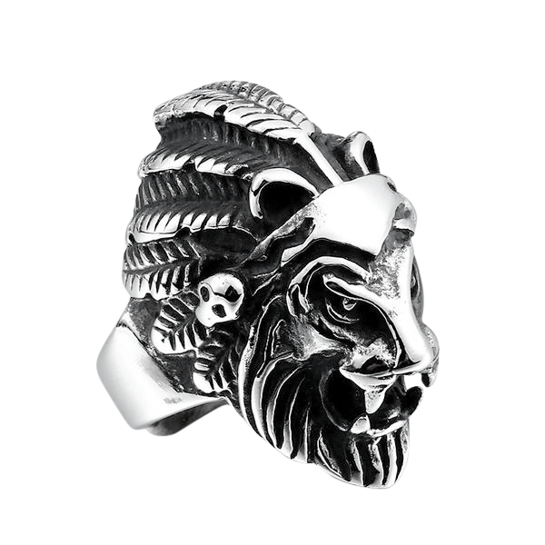 CHIEF LION RING