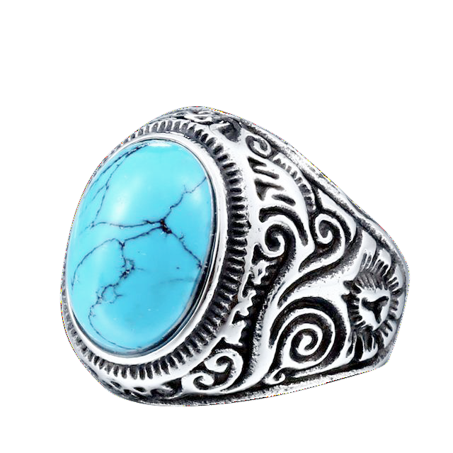 NATIVE STONE RING