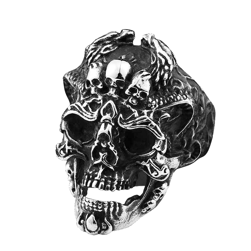 LORD OF DARKNESS SKULL RING