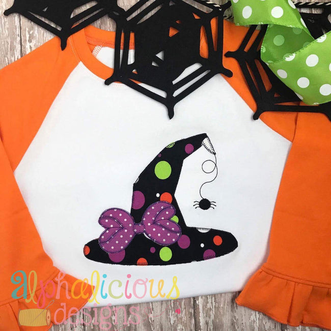 Bow-tiful Diva Witches Hat-Blanket - Alphalicious Designs
