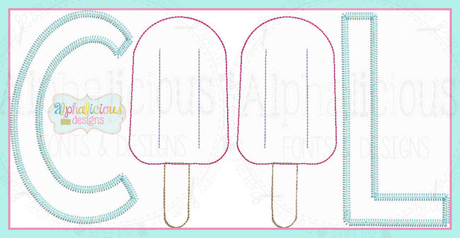 Cool Popsicle Applique