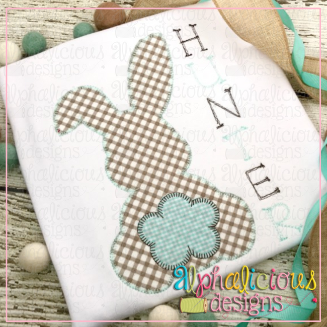 Cottontail-Blanket - Alphalicious Designs