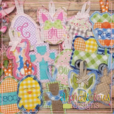 Easter Ornament BUNDLE