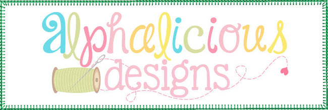 Rectangle Signature Box Applique-Blanket - Alphalicious Designs
