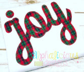 JOY Applique-Blanket