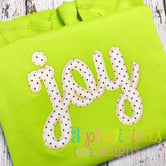 JOY Applique-Zig-Zag