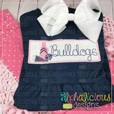 Mega Cheer Faux Smock