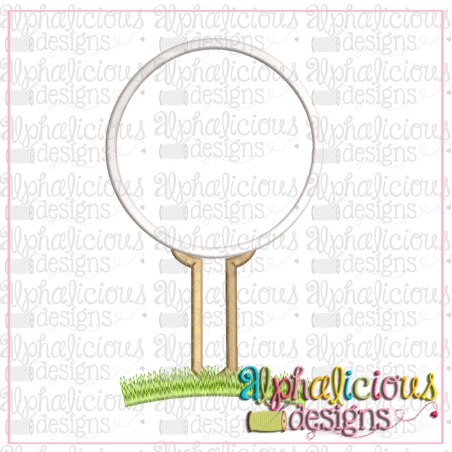 Golf Tee-Satin - Alphalicious Designs