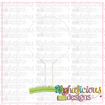 Golf Tee-Triple Bean - Alphalicious Designs