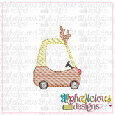 Cozy Coupe Reindeer-MINI-Sketch