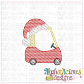 Cozy Coupe Santa-MINI-Sketch