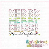 Merry and Bright-Printable