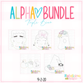 ALPHA BUNDLE-9/2/20 Release-Triple Bean Stitch
